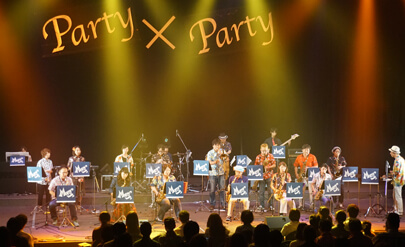 MIKI MUSIC SALON ENSEMBLE FESTIVAL Party x Party アンサンブルコース発表会