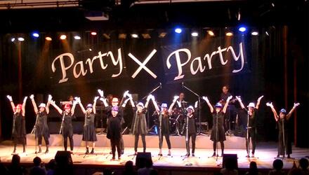 Party x Party ボーカル&コーラスアンサンブルコース発表会
