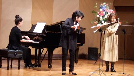 Spring Festival フルート、クラリネット、オカリナコース発表会