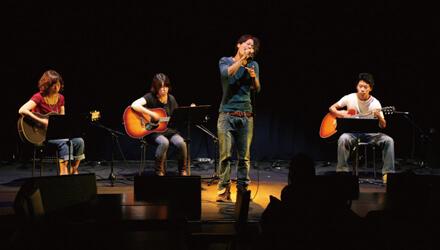 UNPLUGGED LIVE ボーカル・アコースティックギター発表