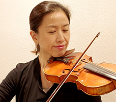 バイオリン楢崎講師