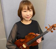 バイオリン林陸子講師