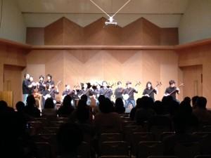 津軽三味線クラス演奏写真