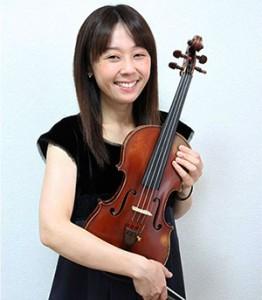バイオリン清水早知講師