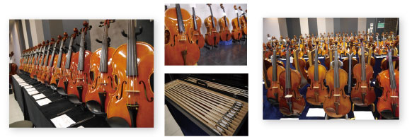 バイオリン、チェロ画像
