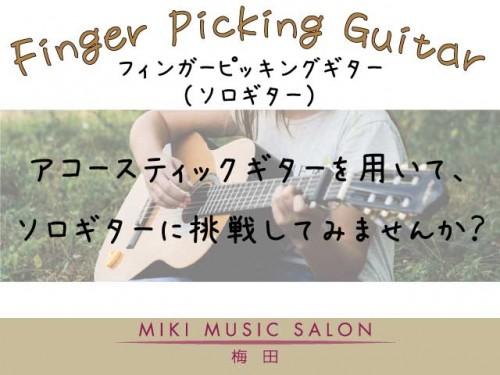 フィンガーピッキングギター